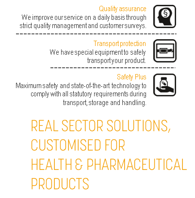 JCL Logistics - Health & Pharma