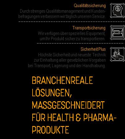 JCL Logistics - Health & Pharma
