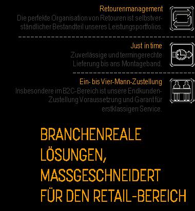 JCL Logistics - Retail